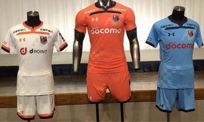 Omiya Ardija 2019 Under Armour Home and Away Football Kit, Soccer Jersey, Shirt