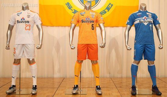 Shimizu S-Pulse 2019 PUMA Home and Away Football Kit, Soccer Jersey, Shirt