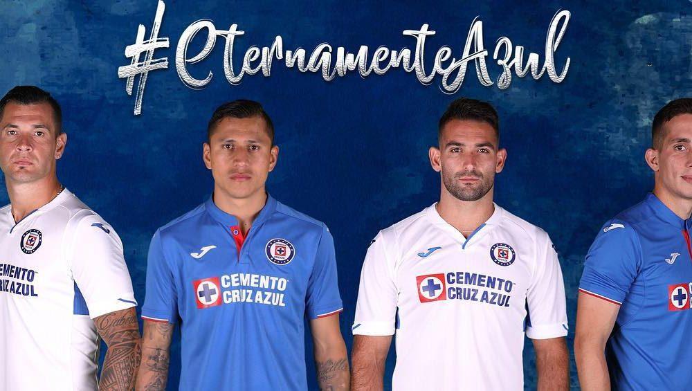 Joma Cruz Azul Official 2019 2020 Away Soccer Jersey