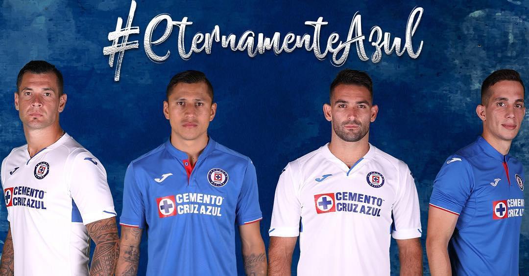6843a0b4596 Cruz Azul 2019 Joma Home and Away Kits - FOOTBALL FASHION.ORG