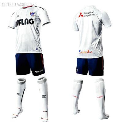 FC Tokyo 2010 Umbro Home and Away Football Kit, Soccer Jersey, Shirt