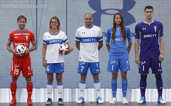 Universidad Católica 2019 Under Armour Home and Away Football Kit, Soccer Jersey, Shirt, Camiseta de Futbol
