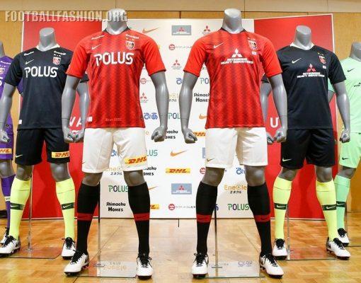 Urawa Red Diamonds 2019 Nike Home and Away Football Kit, Soccer Shirt, Jersey