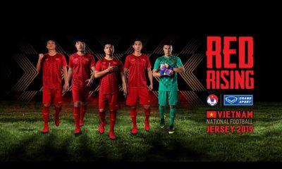 Vietnam 2019 Asian Cup Grand Sport Home and Away Football Kit, Soccer Jersey, Shirt