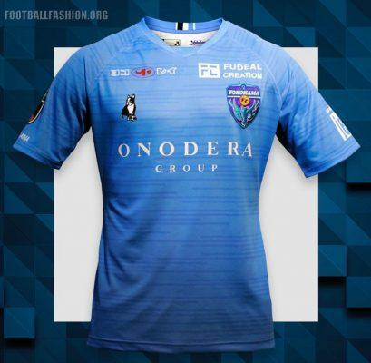 Yokohama FC 2019 Home and Away Football Kit, Soccer Jersey, Shirt