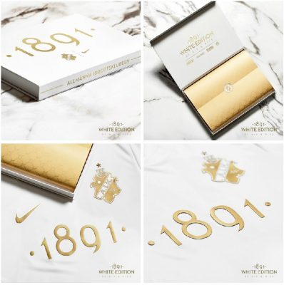 AIK 1891 White Edition Nike Football Kit, Soccer Jersey, 2019 Shirt