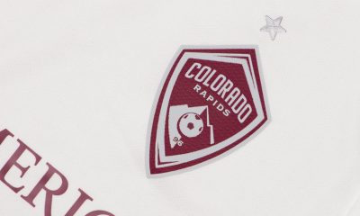 Colorado Rapids 2019 adidas Away Soccer Jersey, Football Kit, Shirt, Camiseta de Futbol MLS