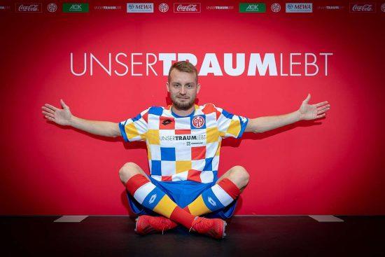 Mainz 05 2019 Lotto Carnival Football Kit, Soccer Jersey, Shirt, Trikot, Fastnachtstrikot