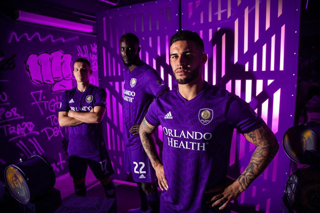 Orlando City SC 2019 adidas Home Jersey. By. Football Fashion Staff 9d04f6867