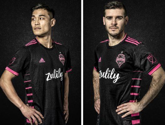 Seattle Sounders FC 2019 2020 adidas Away Football Kit, Soccer Jersey, Shirt, Camiseta de Futbol MLS