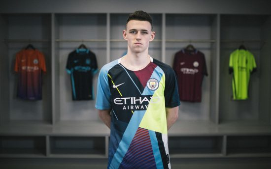 Manchester City x Nike 2019 Celebration Football Kit, Soccer Jersey, Shirt, Maillot, Trikot, Camiseta, Camisa