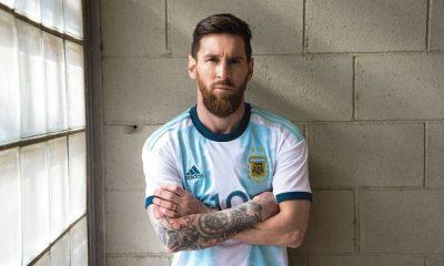 Argentina 2019 Copa America and Women's World Cup adidas Home Football Kit, Soccer Jersey, Shirt, Camiseta de Futbol