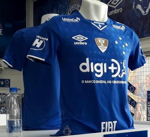 2019 Umbro Brazil Cruzeiro Home Soccer Football Shorts Jersey
