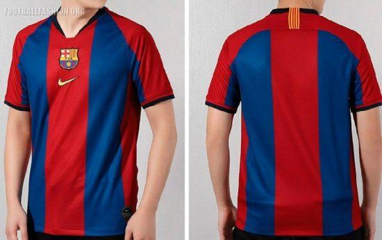 FC Barcelona 2019 El Clásico Nike Football Kit, Soccer Jersey, Shirt, Camiseta de Futbopl, Camisa, Trikot, Maillot