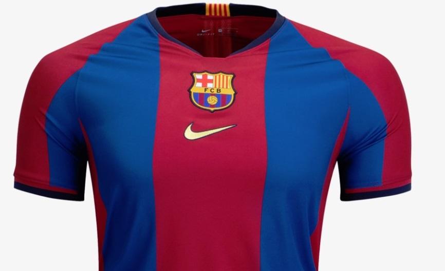 af52eae3c37 FC Barcelona 2019 El Clásico Nike Kit - FOOTBALL FASHION.ORG