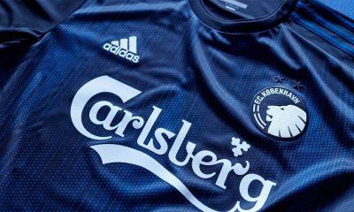 FC Copenhagen 2019 2020 adidas Home Football Kit, Soccer Jersey, Shirt, Spilletrøje, Trøjer
