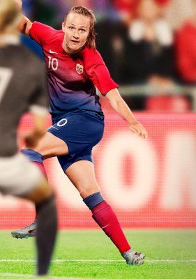 Norway 2019 Women's World Cup Nike Home and Away Football Kit, Soccer Jersey, Shirt, Landslagsdrakt