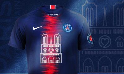 Paris Saint-Germain 2019 Notre Dame Nike Commemorative Football Kit, Soccer Jersey, Shirt, Maillot PSG