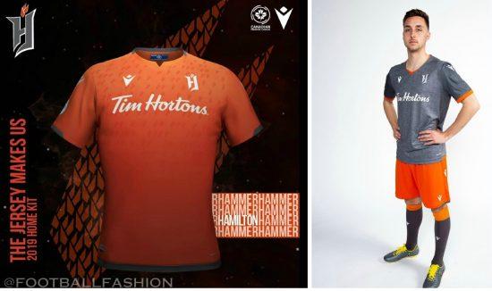 Canadian Premier League 2019 Macron Soccer Jersey, Football Kit, Shirt