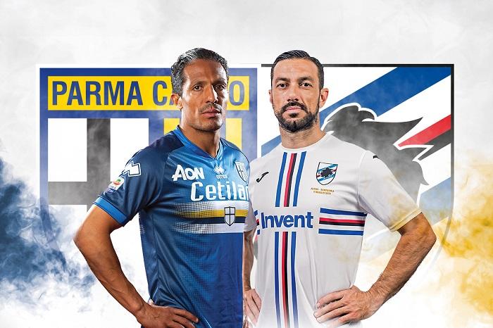Parma & Sampdoria 2019 #BLUCROCIATI Football Kit, Soccer Jersey, Shirt, Gara, Maglia
