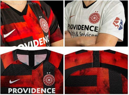 Portland Thorns 2019 Nike Football Kit, Soccer Jersey, Shirt