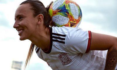 Spain 2019 Women's World Cup adidas Away Football Kit, Soccer Jersey, Shirt, Camiseta de Futbol Mundial Femenino