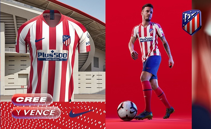 Atletico Madrid 2019 20 Nike Home Kit Football Fashion Org