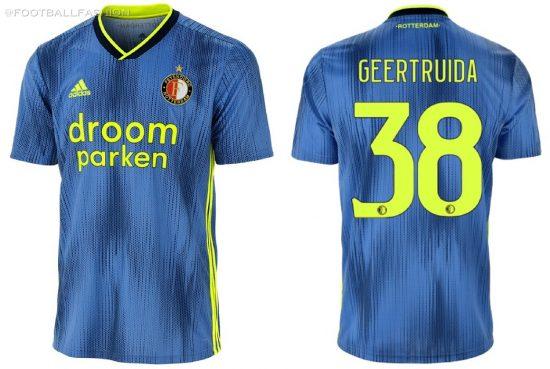 Feyenoord Rotterdam 2019/20 adidas Away Kit - FOOTBALL FASHION