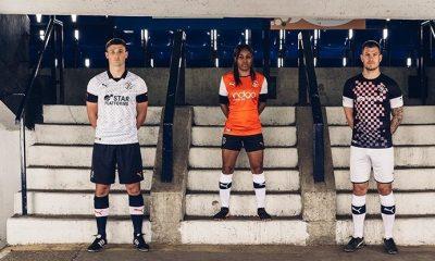 Luton Town 2019 2020 PUMA Football KIt, Soccer Jersey, Shirt