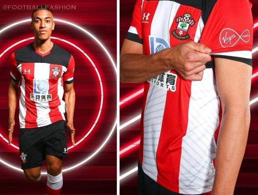 Southampton Football Club 2019 2020 Under Armour Football Kit, Soccer Jersey, Shirt, Camiseta, Camisa, Maillot, Trikot