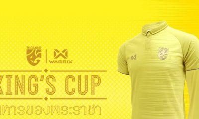 Thailand 2019 King's Cup Football Kit, Soccer Jersey, Shirt