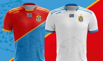 DR Congo 2019 AFCON O'Neills Football Kit, Soccer Jersey, Shirt, Maillot