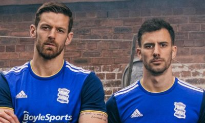 Birmingham City 2019 2020 adidas Home Football Kit, Soccer Jersey, Shirt
