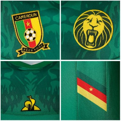 Cameroon 2019 AFCON FIFA Women's World Cup le coq sportif Football KIt, Soccer Jersey, Shirt, Maillot