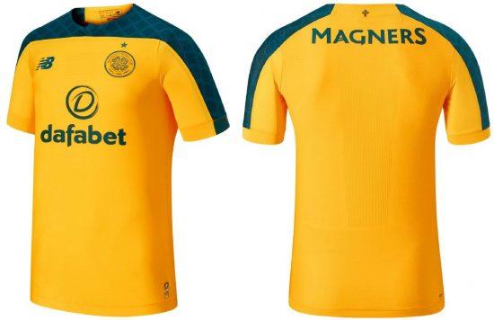 Celtic FC 2019 2020 New Balance Away Football Kit, Soccer Jersey, Shirt
