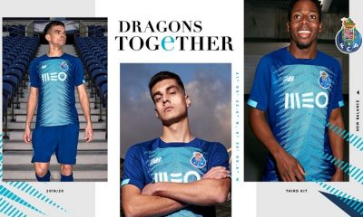 FC Porto 2019 2020 New Balance Third Football Kit, Soccer Jersey, Shirt, Camisa, Camisola