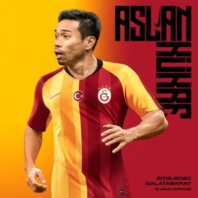 Galatasaray SK 2019 2020 Nike Home Football Kit, Soccer Jersey, Shirt, Forma
