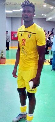 Guinea 2019 AFCON Macron Football Kit, Soccer Jersey, Shirt, Maillot, Guinée
