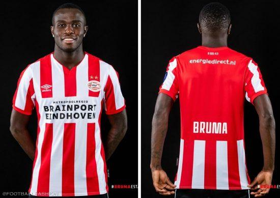 PSV Eindhoven 2019 2020 Umbro Home Football Kit, Soccer Jersey, Shirt, Tenue, Thuisshirt