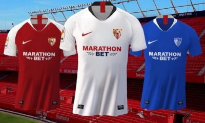 Sevilla FC 2019 2020 Nike Soccer Jersey, Shirt, Football Kit, Camiseta de Futbol