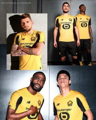 Lille OSC 2019 2020 New Balance Football Kit, Soccer Jersey, Shirt, Maillot
