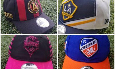 New Era 2019 MLS Jersey Hook 9TWENTY Caps