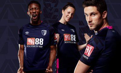 AFC Bournemouth 2019 2020 Umbro Away Football Kit, Soccer Jersey, Shirt