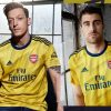 Arsenal FC 2019 2020 adidas Yellow Bruised Banana Away Football Kit, Shirt, Soccer Jersey, Maillot, Camiseta, Camisa, Trikot, Tenue