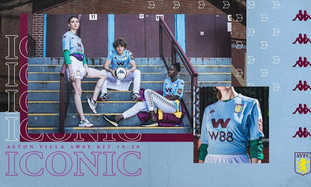 Aston Villa 2019/20 Kappa Away Kit - FOOTBALL FASHION