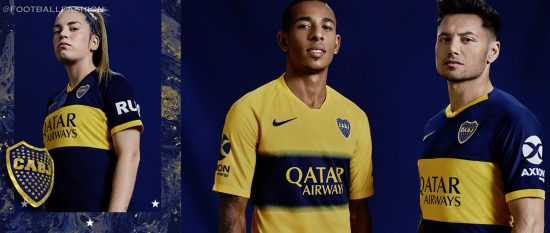 In the news this week for signing former AS Roma and Italy national team midfielder Daniele De Rossi, Boca Juniors have dropped their Nike 2019/20 home and away kits.
