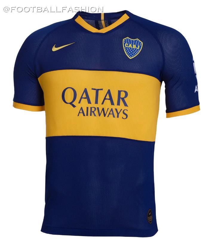 Boca Juniors 2019/20 Nike Home and Away Kits - FOOTBALL FASHION