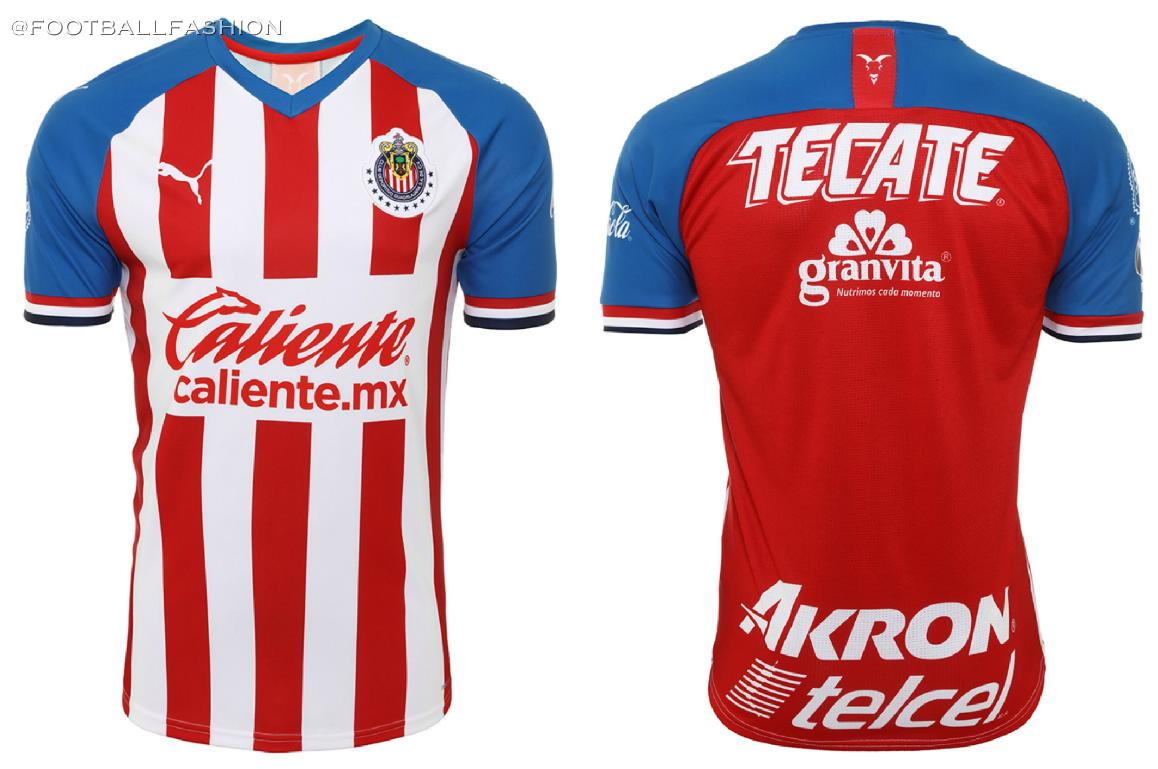 Chivas de Guadalajara 2019/20 PUMA Home and Away Jerseys ...