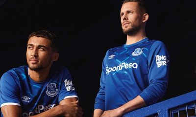 Everton FC 2019 2020 Umbro Home Football Kit, Soccer Jersey, Shirt, Camiseta, Camisa, Trikot, Maillot