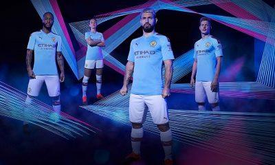 Manchester City FC 2019 2020 PUMA Home and Away Football Kit, Shirt, Soccer Jersey, Maillot, Camiseta, Camisa, Trikot, Tenue